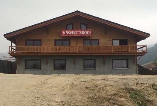 Construction maison en bois massif | Finn-est